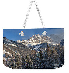 Winter Dolomites Weekender Tote Bag