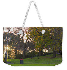 Weekender Tote Bag featuring the photograph Winter Dreams 2 by Naomi Burgess