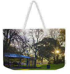 Weekender Tote Bag featuring the photograph Winter Dreams by Naomi Burgess