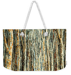 Weekender Tote Bag featuring the painting Winter Dreams by Tatiana Iliina