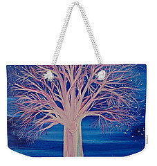Winter Fantasy Tree Weekender Tote Bag
