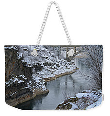 Winter Fashion Weekender Tote Bag