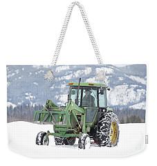 Winter Feeding Weekender Tote Bag