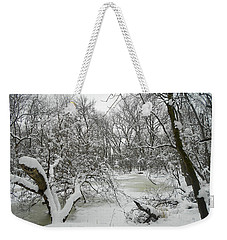 Winter Forest Series 3 Weekender Tote Bag