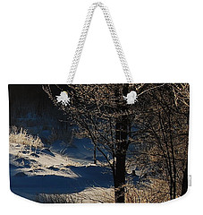 Winter Glow Weekender Tote Bag by Mim White