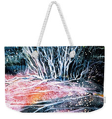 Winter Habitat No.1 Weekender Tote Bag by Trudi Doyle