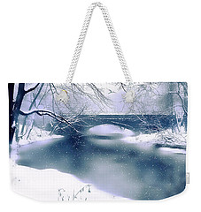Winter Haiku Weekender Tote Bag