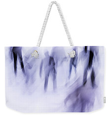 Winter Illusions On Ice - Series 2 Weekender Tote Bag by Steven Milner