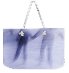 Winter Illusions On Ice - Series 1 Weekender Tote Bag by Steven Milner