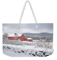Winter In Connecticut Weekender Tote Bag