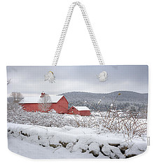 Winter In Connecticut Weekender Tote Bag