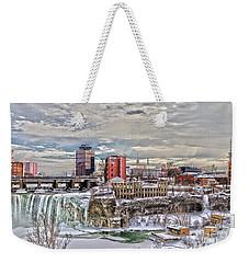 Winter In Rochester Weekender Tote Bag