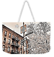 Winter In The Bronx Weekender Tote Bag