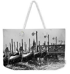 Winter In Venice Weekender Tote Bag