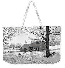 Winter In Vermont Weekender Tote Bag