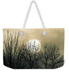 Winter Into Spring Weekender Tote Bag