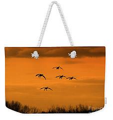 Winter Landing No.2 Weekender Tote Bag
