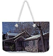 Winter Lodge Weekender Tote Bag by Richard Farrington