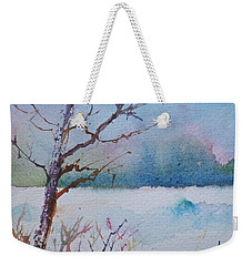 Winter Loneliness Weekender Tote Bag by Anna Ruzsan