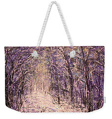 Winter Magic Weekender Tote Bag by Natalie Holland