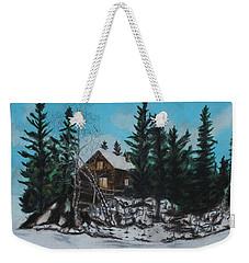 Winter Marshland Weekender Tote Bag by Jeanne Fischer