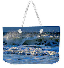 Winter Ocean At Nauset Light Beach Weekender Tote Bag