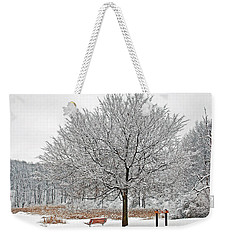 Winter Park Weekender Tote Bag by Aimee L Maher Photography and Art Visit ALMGallerydotcom