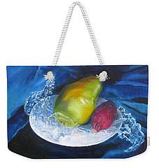 Winter Pears Weekender Tote Bag