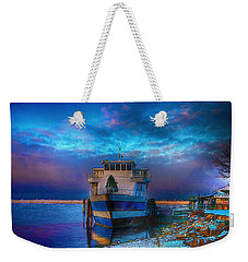 Welcome Sun Breaking The Cold Weekender Tote Bag