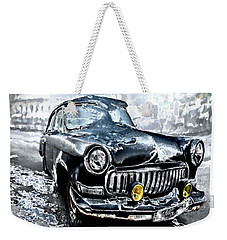 Winter Road Warrior Weekender Tote Bag