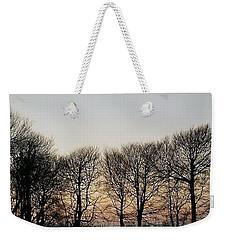 Winter Skyline Weekender Tote Bag by Richard Brookes