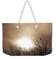 Winter Solstice Weekender Tote Bag by Roselynne Broussard