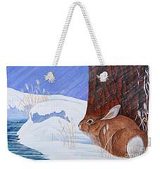 Winter Storm Approaching Weekender Tote Bag