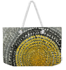 Winter Sun Original Painting Weekender Tote Bag