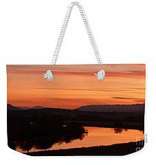 Winter Sunset - Strathspey Weekender Tote Bag