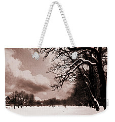 Winter Tale Weekender Tote Bag by Nina Ficur Feenan