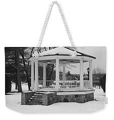 Winter Time Gazebo Weekender Tote Bag by John Telfer