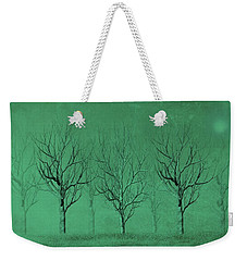 Winter Trees In The Mist Weekender Tote Bag