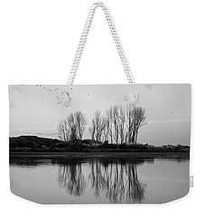 Autumn Trees Whakatane Weekender Tote Bag by Venetia Featherstone-Witty