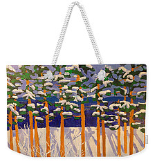 Winter Valley Weekender Tote Bag