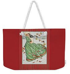 Winter Vogue Weekender Tote Bag