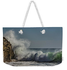 Winter Waves Weekender Tote Bag