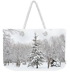 Winter White-out Weekender Tote Bag
