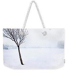 Winter Whiteout Weekender Tote Bag