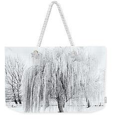 Winter Willow Weekender Tote Bag