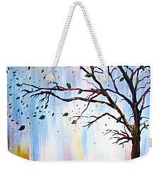 Winter Windstorm Weekender Tote Bag