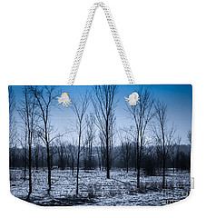 Weekender Tote Bag featuring the photograph Winter Wonderland by Bianca Nadeau