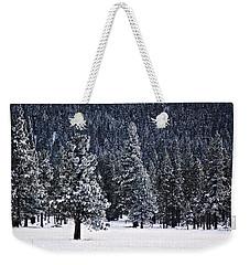 Winter Wonderland Weekender Tote Bag by Melanie Lankford Photography