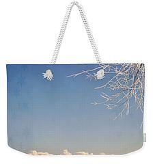 Winter Wonderland With Snowflakes Decoration. Weekender Tote Bag