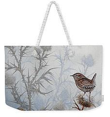 Winter Wren Weekender Tote Bag
